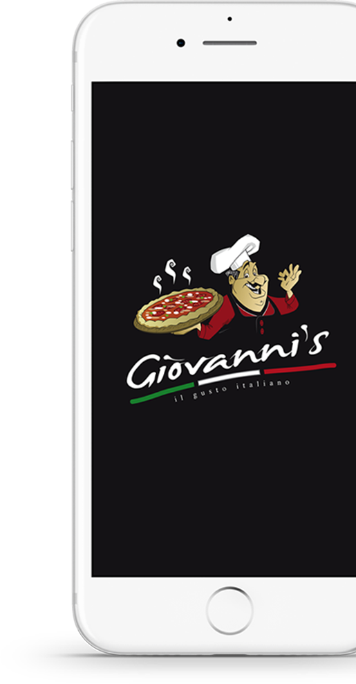 Giovanni's Pizza - Handy Mockup App